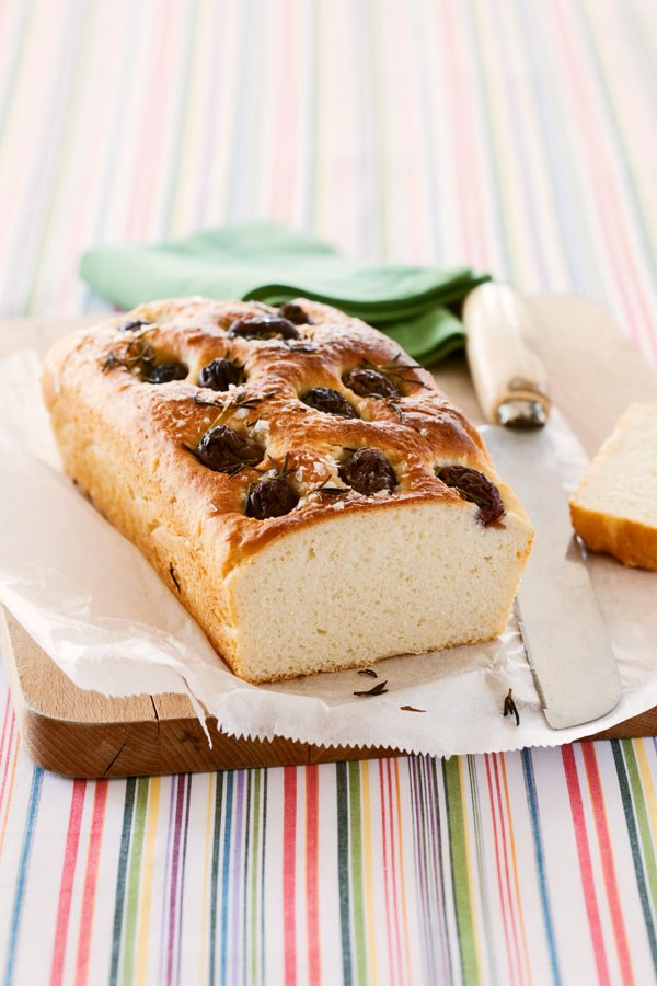Potato, olive and rosemary bread
