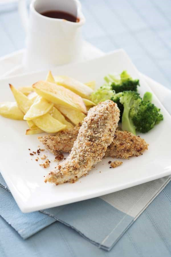 Fish Goujons and chips