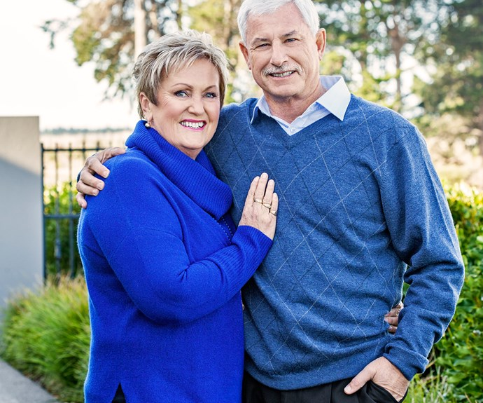"""Dianne, Richard's second wife, brings a lot of humour into their household. """"We make a great team,"""" he says."""