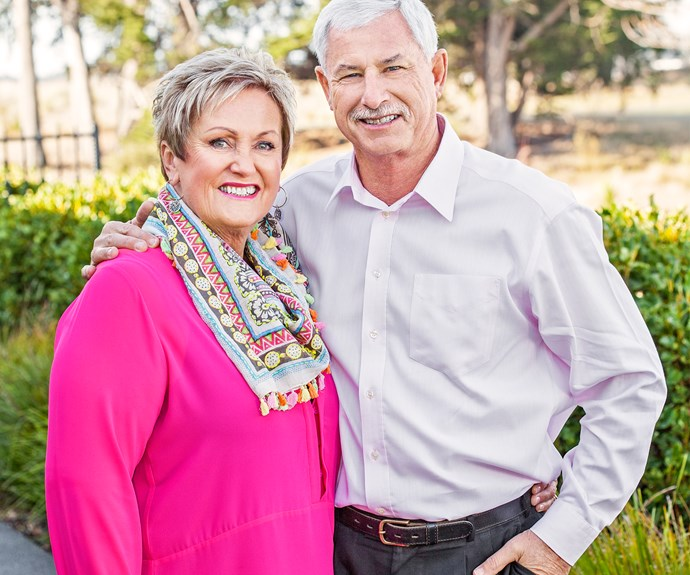 New Zealand cricketer Sir Richard Hadlee and his wife Dianne