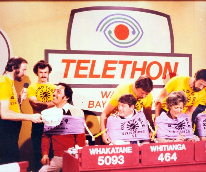 Telethons were part of the great no-holds-barred approach to live television.