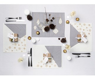 Make your own festive placemats