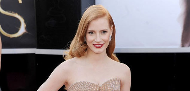 Jessica Chastain, Oscars red carpet