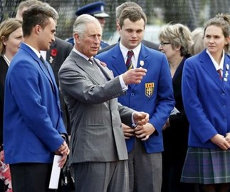 Royal tour day 2: Charles and Camilla head back to school