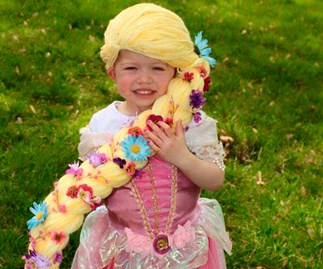 These amazing wigs are bringing joy to young cancer patients