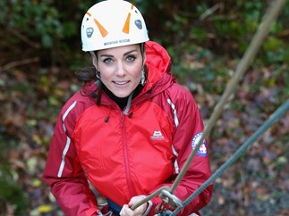 Duchess Kate's abseiling adventure