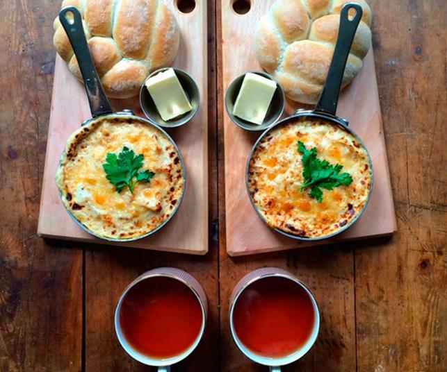 Instagram sensation cooks symmetrical breakfasts for himself and partner daily