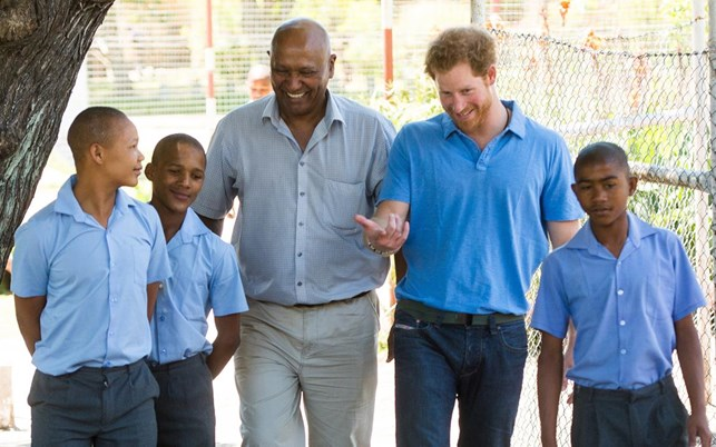 Prince Harry: 'I wanted to be the bad boy at school'