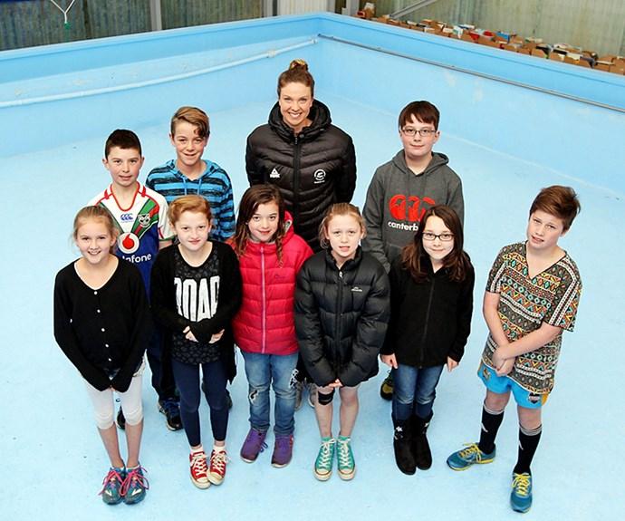 Lauren is getting behind Garnier's Save Our School Pools campaign to help keep school pools open.