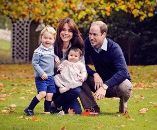 William and Kate share new family photo