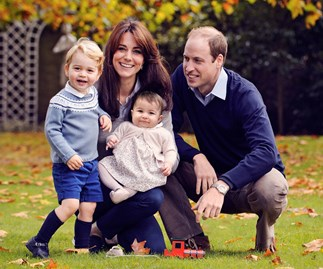 Kate Middleton and Prince William family photo