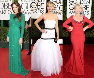 Most iconic Golden Globes dresses