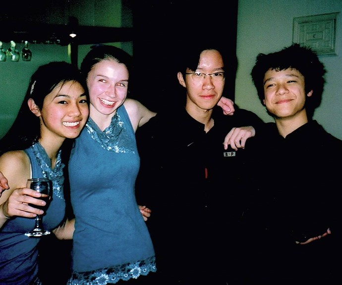 With Czechpoint after their group won the NZCT Chamber Music Contest in 2005.