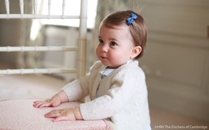 New family photos mark Princess Charlotte's first birthday