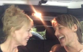 Watch Nicole Kidman and Keith Urban's sweet sing-a-long