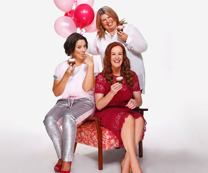 Jackie Clarke, Urzilla Carlson, Jacquie Nairn breast cancer