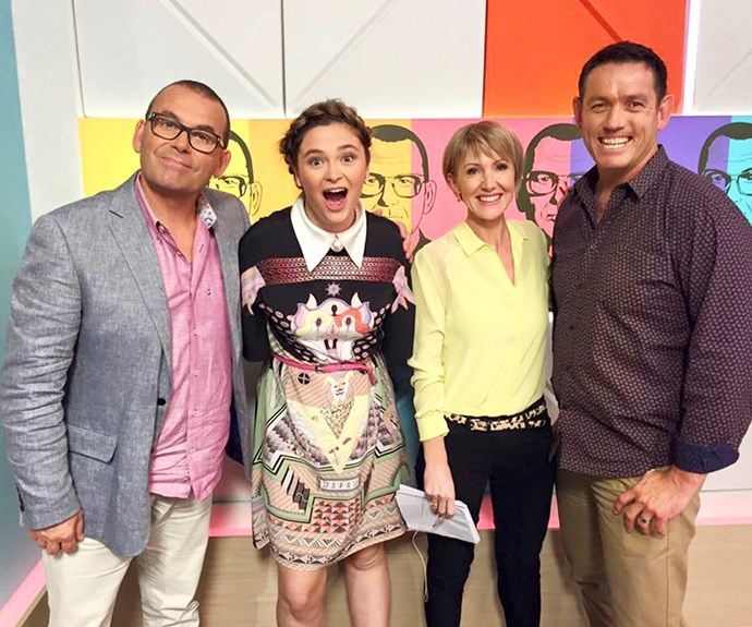TV3's early starters – Paul Henry, Verity Johnson, Ingrid Hipkiss and Jim.