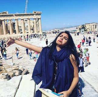 Huma Mobin Honeymoons Alone