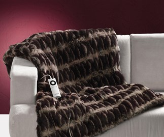 Win a Sunbeam Feel Perfect Heated Throw and pillow