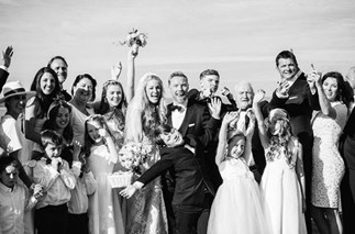 Ronan Keating wedding day