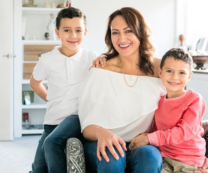 Melodie Robinson's biggest parenting challenge yet