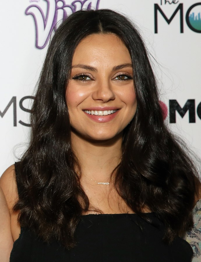 Mila Kunis reveals she bought her own wedding ring online