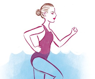 Easy water workouts to try