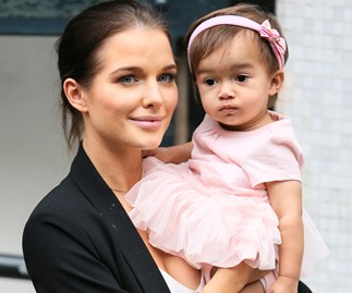 Helen Flanagan and daughter Matilda Sinclair