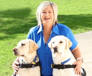 Meet the woman who trains dogs to change people's lives