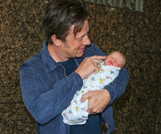 Jamie Oliver just shared another sweet snap of his new born baby