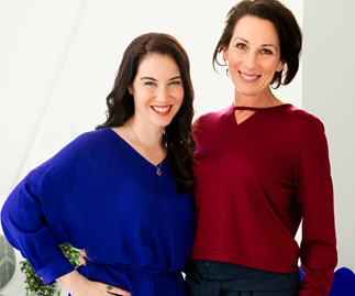 The Kiwi actresses play mother and daughter, Phyllis and Louise Rose, in the six-part mini-series Hillary.