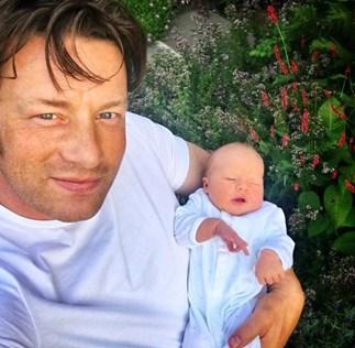 Jamie Oliver baby