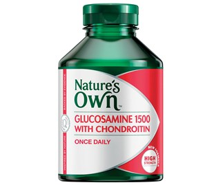 Win Nature's Own Glucosamine 1500 with Chondroitin