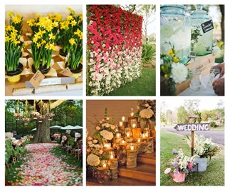 Beautiful spring wedding ideas