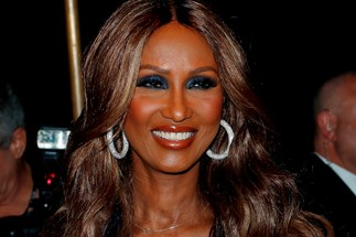 Iman appears in first fashion campaign since singer's death