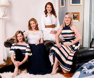 Tai Berdinner-Blades, Jennifer Ward-Lealand, Rachael Blampied and Victoria MacCulloch