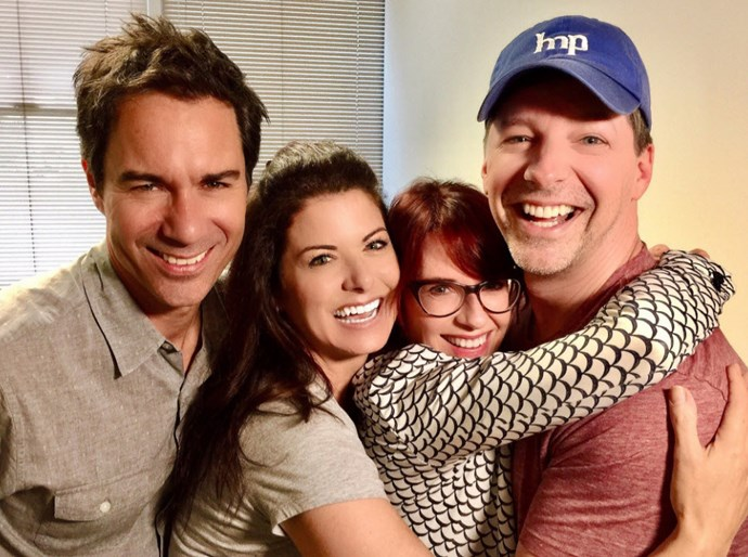 The stars of Will & Grace have finally reunited
