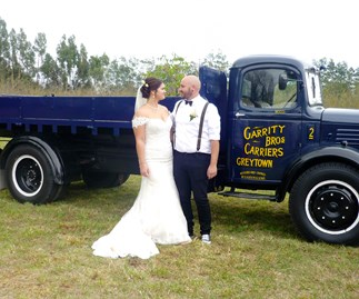 Wedding of the week: Milly and Jade Garrity
