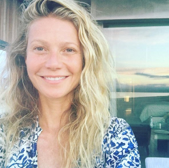 Gwyneth Paltrow shares make-up free snap as she turns 44