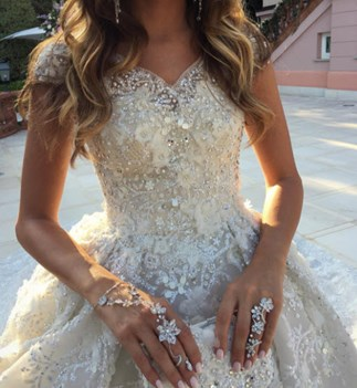 Would you pay $440,000 for this wedding dress?