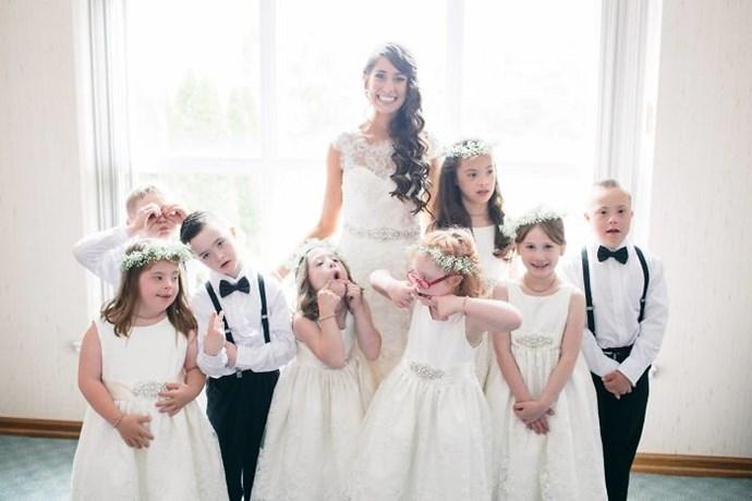 Special ed wedding