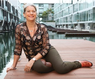 Actress Kerry Fox's chilling new role