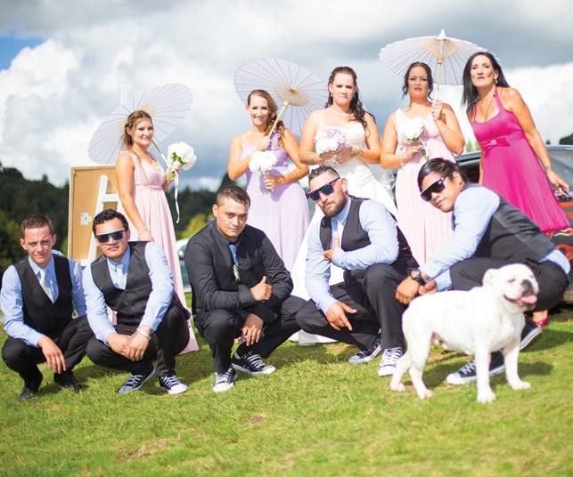 Wedding of the week: Nahdia Rose & Benjamin Tahau