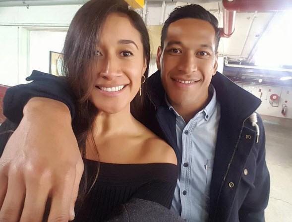 Maria Tutaia engaged to Israel Folau