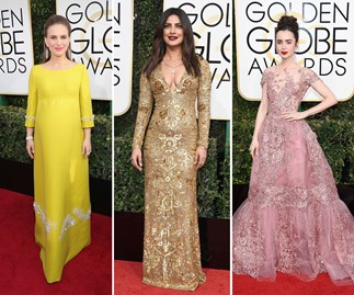 The best red carpet looks from the 2017 Golden Globe Awards