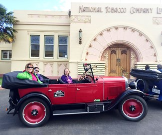 Mary Lambie's family adventure in Napier