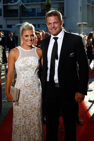 Richie McCaw and Gemma Flynn married in Wanaka