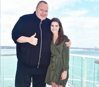 Kim Dotcom confirms engagement to Auckland girlfriend