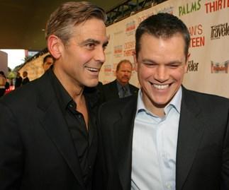 George Clooney and Matt Damon