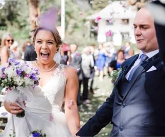 Wedding of the week: Hana & Aidan Short